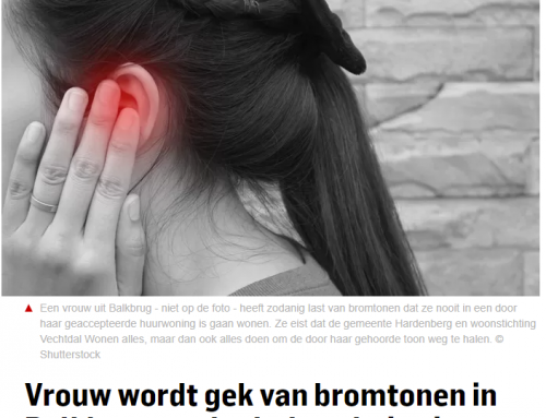 Vrouw wordt gek van bromtonen in Balkbrug en vlucht huurhuis uit: 'Gemeente, help me!'
