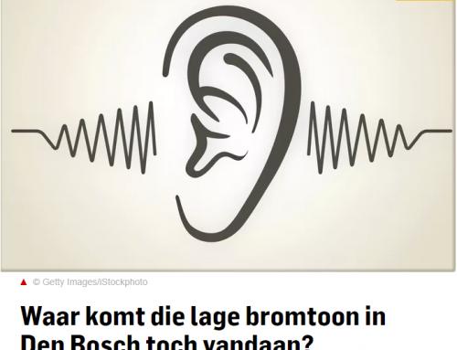 Waar komt die lage bromtoon in Den Bosch toch vandaan?